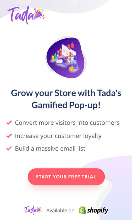 Tada-Shopify-pop-up-app