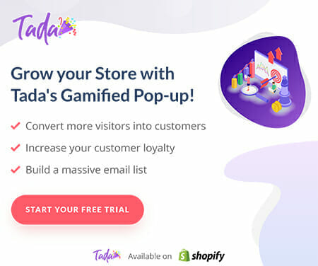 Gamified pop-up