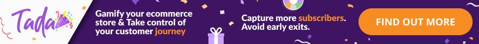 Tada gamification shopify app