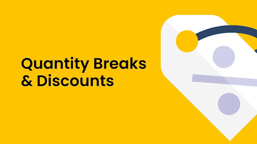 Quantity Breaks and Discounts