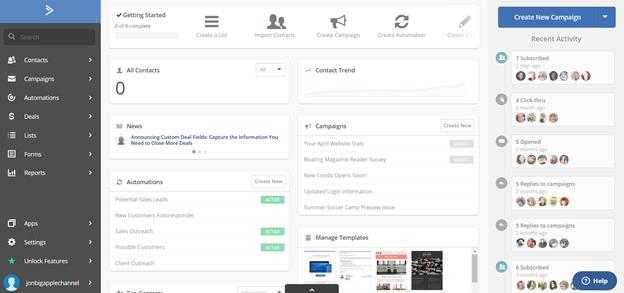 active campaign app customization